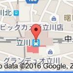 Google mapにLacisaを赤ポチを載せたいのですが…。